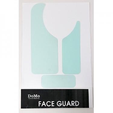 DOMO Face Guard Abnehmbarer transparenter Schlagbrett 3 Stück
