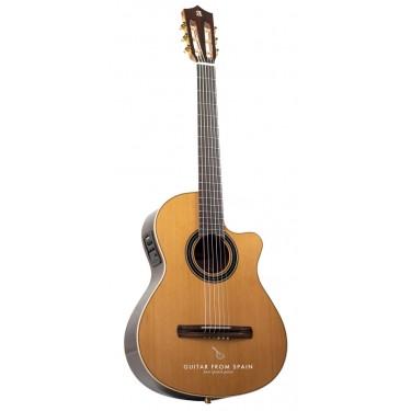Alhambra CS-LR CW E1 Guitare Classique Crossover