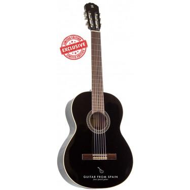 Alhambra 1C Black LH Guitarra Clásica de zurdos