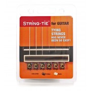 STRING-TIE for guitar Black STRING-TIE Guitar strings