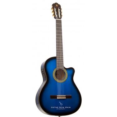 Alhambra 5FCW H BLU E1 Electroacoustic Flamenco Guitar