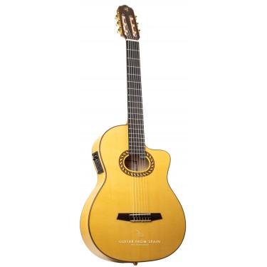 Prudencio Saez 6-CW (59) Elektro Klassische Gitarre