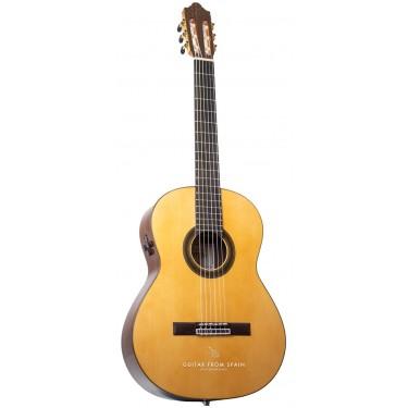 Camps SP6FE Electro Acoustic Flamenco negra guitar