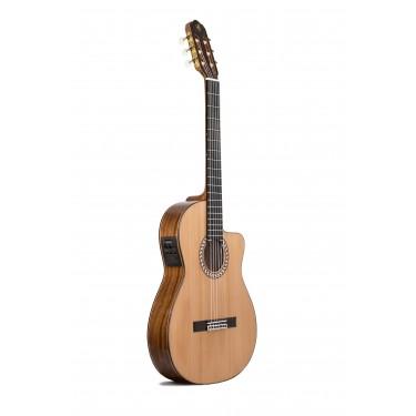 Prudencio Saez 4-CW (56) Elektro Klassische Gitarre