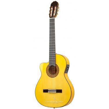 Raimundo 646E LH Guitarra flamenca zurda Electro acústica