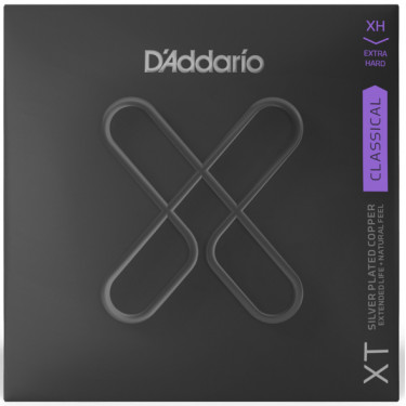 D'Addario XTC 44 Classical guitar strings Extra Hard Tension