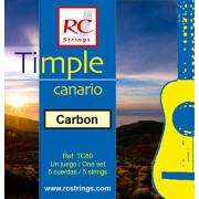 Royal Classics TC80 Cuerdas de Timple Canario
