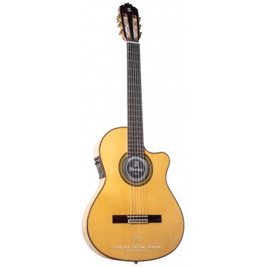 Alhambra 7FCCTE2 Elektro Akustik Flamenco Gitarre