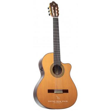 Alhambra 9PCW E8 Elektro Klassische Gitarre