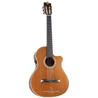 Alhambra CS3CW E8 Guitare Classique électro Crossover
