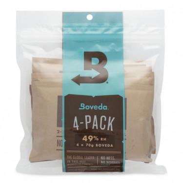 Boveda 4 pack 49 RH humidity control