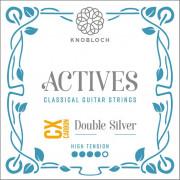 Knobloch Actives Double Silver Carbon CX 500ADC Cuerdas Tension Alta