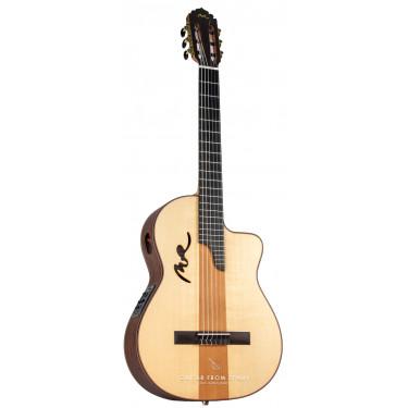 Manuel Rodriguez B CUT CAFE OLE Electro-Classical guitar
