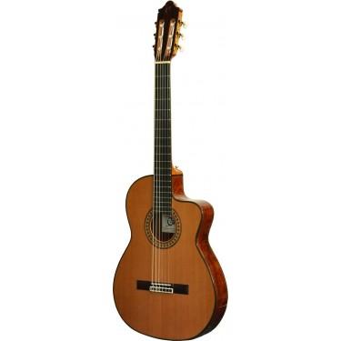 Camps NAC4 Guitarra clasica electrificada caja estrecha